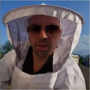 Francesco Portelos teacher beekeeper